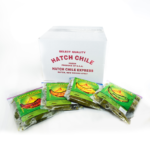 Flame Roasted, Hand Peeled - Frozen Hatch Green Chile (Whole)