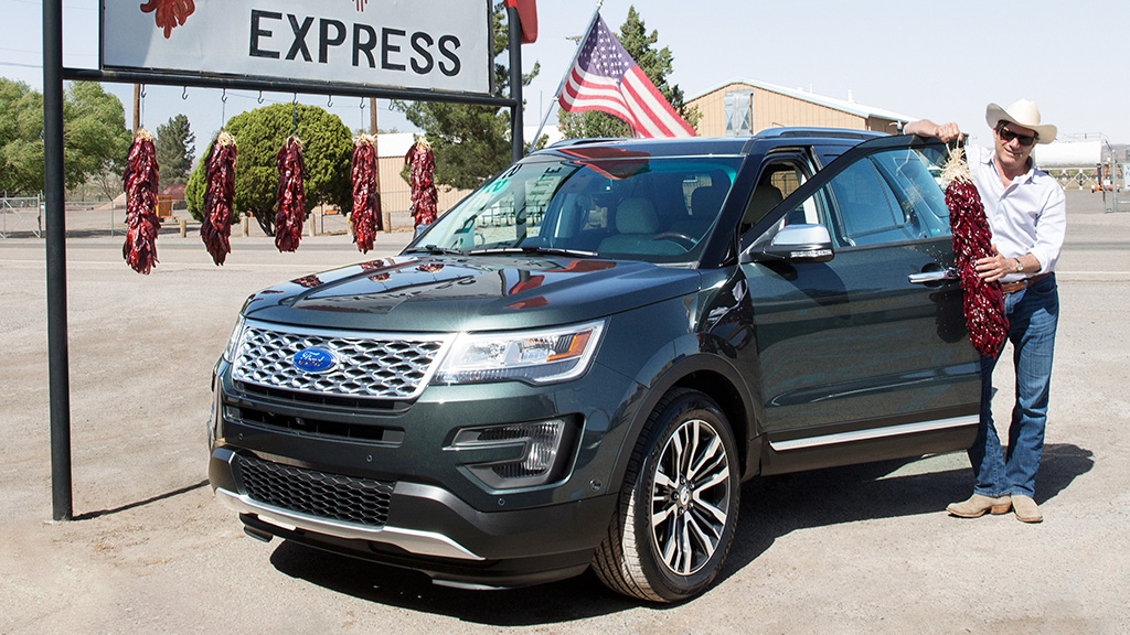 Ford Explorer 2016 Hunts For The Perfect Pepper