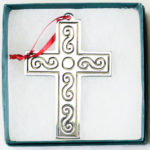 Southwest Ornament - Scroll Cross
